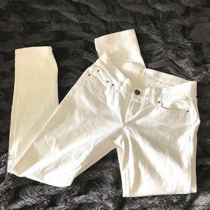 White Benetton Jeans